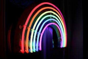 tendencia de diseño arcoiris