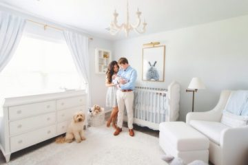 cómo hacer espacio para un bebé en una casa pequeña