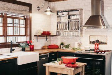 consejos para decorar una cocina midcentury modern
