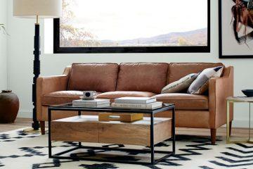consejos para diseñar un sofá de cuero