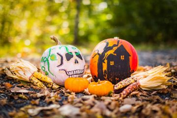 ideas asequibles DIY para Halloween
