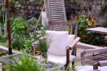 empacar tus muebles de exterior