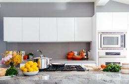 gabinetes de cocina que están de moda