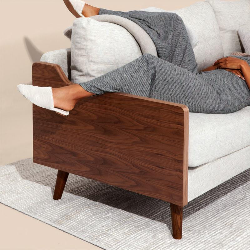 muebles de madera en la decoración del hogar