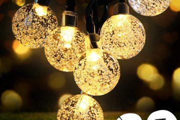 luces de cadena y dónde usarlas