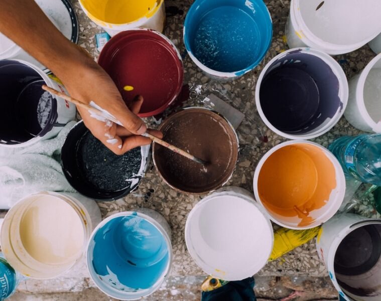 técnicas de pintura decorativas para paredes